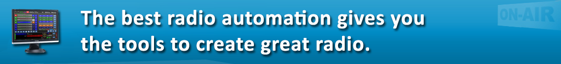 The best radio automation gives you the tools to create great radio.