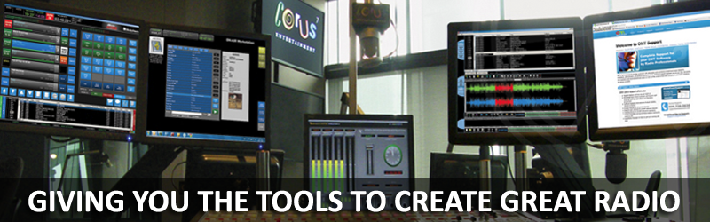 We help make Radio. Great software from OMT.