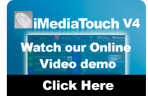 Watch a Live iMediatouch v4 Demo